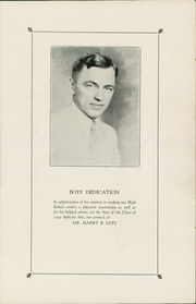 Page 7, 1934 Edition, Lancaster High School - Vidette Yearbook (Lancaster, PA) online yearbook collection