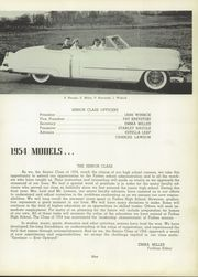 Page 13, 1954 Edition, Forbes High School - Forbian Yearbook (Kantner, PA) online yearbook collection