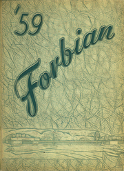 Page 1, 1959 Edition, Forbes High School - Forbian Yearbook (Kantner, PA) online yearbook collection