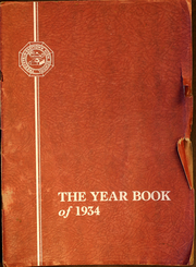 1934 Edition, Tredyffrin Easttown High School - Yearbook (Berwyn, PA)