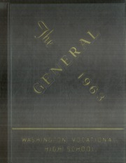 1963 Edition, Washington Vocational High School - General Yearbook (Pittsburgh, PA)