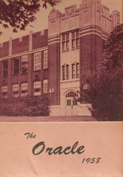 1958 Edition, Cambria High School - Oracle Yearbook (Ebensburg, PA)