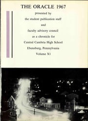 Page 7, 1967 Edition, Cambria High School - Oracle Yearbook (Ebensburg, PA) online yearbook collection