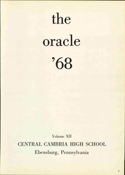 Page 7, 1968 Edition, Cambria High School - Oracle Yearbook (Ebensburg, PA) online yearbook collection
