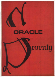 1970 Edition, Cambria High School - Oracle Yearbook (Ebensburg, PA)