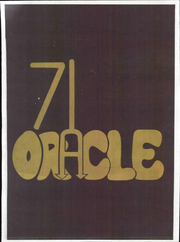 1971 Edition, Cambria High School - Oracle Yearbook (Ebensburg, PA)