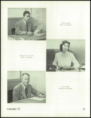 Page 16, 1952 Edition, Polytechnic High School - Caerulea Yearbook (Long Beach, CA) online yearbook collection