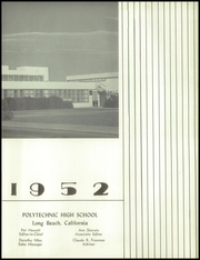 Page 7, 1952 Edition, Polytechnic High School - Caerulea Yearbook (Long Beach, CA) online yearbook collection