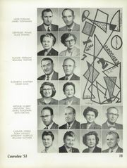 Page 20, 1953 Edition, Polytechnic High School - Caerulea Yearbook (Long Beach, CA) online yearbook collection