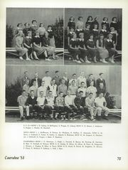 Page 74, 1953 Edition, Polytechnic High School - Caerulea Yearbook (Long Beach, CA) online yearbook collection