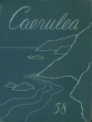 1958 Edition, Polytechnic High School - Caerulea Yearbook (Long Beach, CA)