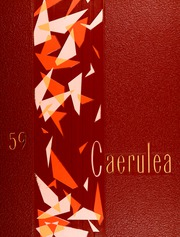 1959 Edition, Polytechnic High School - Caerulea Yearbook (Long Beach, CA)