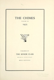 Page 5, 1935 Edition, Berea College - Chimes Yearbook (Berea, KY) online yearbook collection