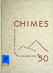 Berea College - Chimes Yearbook (Berea, KY) online yearbook collection, 1950 Edition, Page 1
