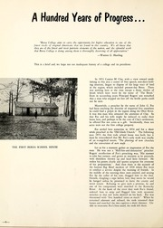 Page 10, 1955 Edition, Berea College - Chimes Yearbook (Berea, KY) online yearbook collection