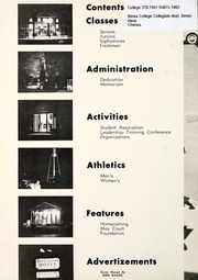 Page 6, 1963 Edition, Berea College - Chimes Yearbook (Berea, KY) online yearbook collection
