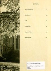 Page 7, 1965 Edition, Berea College - Chimes Yearbook (Berea, KY) online yearbook collection