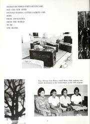 Page 10, 1966 Edition, Berea College - Chimes Yearbook (Berea, KY) online yearbook collection