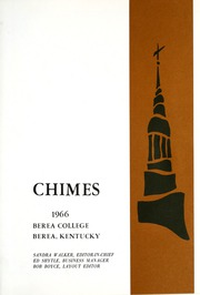 Page 5, 1966 Edition, Berea College - Chimes Yearbook (Berea, KY) online yearbook collection