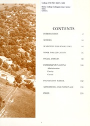 Page 7, 1966 Edition, Berea College - Chimes Yearbook (Berea, KY) online yearbook collection