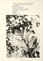 Page 166, 1967 Edition, Berea College - Chimes Yearbook (Berea, KY) online yearbook collection