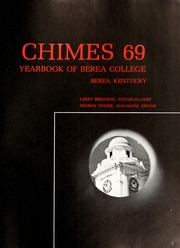 Page 5, 1969 Edition, Berea College - Chimes Yearbook (Berea, KY) online yearbook collection