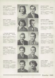 Page 13, 1949 Edition, East Greenville High School - Conifer Yearbook (East Greenville, PA) online yearbook collection