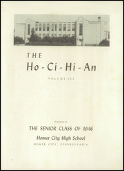 Page 7, 1946 Edition, Homer City High School - Ho Ci Hi An Yearbook (Homer City, PA) online yearbook collection