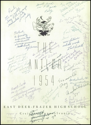 Page 5, 1954 Edition, East Deer Frazer High School - Antler Yearbook (Creighton, PA) online yearbook collection