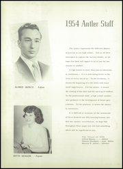 Page 6, 1954 Edition, East Deer Frazer High School - Antler Yearbook (Creighton, PA) online yearbook collection