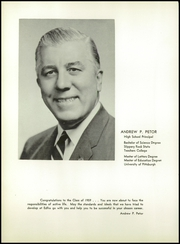 Page 12, 1959 Edition, East Deer Frazer High School - Antler Yearbook (Creighton, PA) online yearbook collection