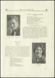 Page 11, 1925 Edition, West Reading High School - Vaquero Yearbook (West Reading, PA) online yearbook collection