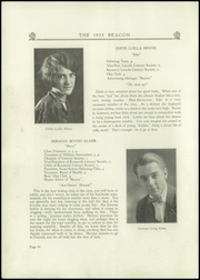 Page 12, 1925 Edition, West Reading High School - Vaquero Yearbook (West Reading, PA) online yearbook collection