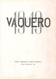 Page 5, 1949 Edition, West Reading High School - Vaquero Yearbook (West Reading, PA) online yearbook collection
