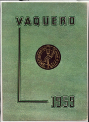 1959 Edition, West Reading High School - Vaquero Yearbook (West Reading, PA)