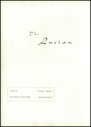 Page 6, 1942 Edition, St Luke High School - Lucian Yearbook (Carnegie, PA) online yearbook collection