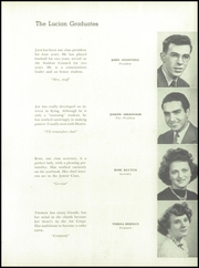 Page 15, 1944 Edition, St Luke High School - Lucian Yearbook (Carnegie, PA) online yearbook collection