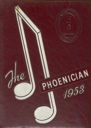 1953 Edition, Westmont Upper Yoder High School - Phoenician Yearbook (Johnstown, PA)