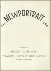 Page 5, 1944 Edition, Newport Township High School - Newportrait Yearbook (Wanamie, PA) online yearbook collection