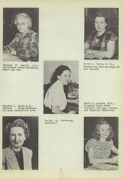 Page 11, 1949 Edition, East Washington High School - Pilot Yearbook (Washington, PA) online yearbook collection