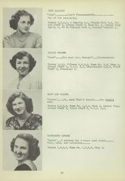 Page 14, 1949 Edition, East Washington High School - Pilot Yearbook (Washington, PA) online yearbook collection