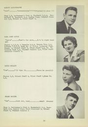Page 17, 1949 Edition, East Washington High School - Pilot Yearbook (Washington, PA) online yearbook collection
