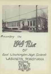 Page 5, 1949 Edition, East Washington High School - Pilot Yearbook (Washington, PA) online yearbook collection