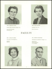 Page 10, 1955 Edition, East Washington High School - Pilot Yearbook (Washington, PA) online yearbook collection