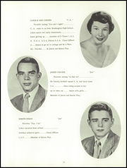 Page 15, 1955 Edition, East Washington High School - Pilot Yearbook (Washington, PA) online yearbook collection
