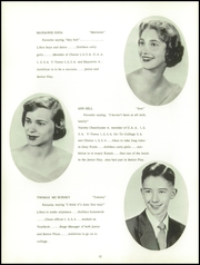 Page 16, 1955 Edition, East Washington High School - Pilot Yearbook (Washington, PA) online yearbook collection