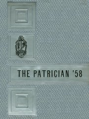 1958 Edition, St Patricks High School - Patrician Yearbook (Scranton, PA)