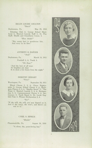 Page 11, 1929 Edition, Doylestown High School - Torch Yearbook (Doylestown, PA) online yearbook collection