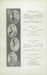 Page 12, 1929 Edition, Doylestown High School - Torch Yearbook (Doylestown, PA) online yearbook collection
