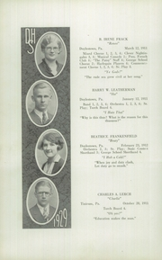 Page 14, 1929 Edition, Doylestown High School - Torch Yearbook (Doylestown, PA) online yearbook collection